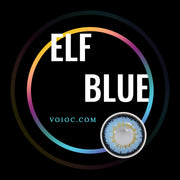 Voioc® Eye Circle Lens Elf Blue Colored Contact Lenses V6141 - Voioc.com