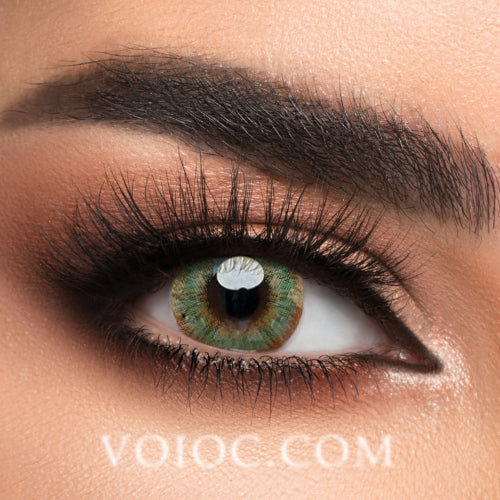 Voioc® Eye Circle Lens Pony Green Colored Contact Lenses V6169 - Voioc.com