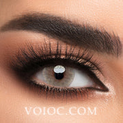 Voioc® Eye Circle Lens Ice Brown Colored Contact Lenses V6172 - Voioc.com