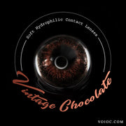 Voioc® Eye Circle Lens Vintage Chocolate Colored Contact Lenses V6181 - Voioc.com