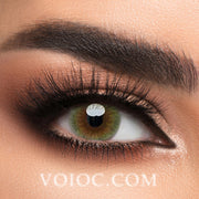 Voioc® Eye Circle Lens Lemon Green Colored Contact Lenses V6192 - Voioc.com