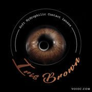 Voioc® Eye Circle Lens Iris Brown Colored Contact Lenses V6193 - Voioc.com