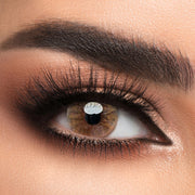 Voioc® Eye Circle Lens Crystal Ball Brown II Colored Contact Lenses V6013 - Voioc.com