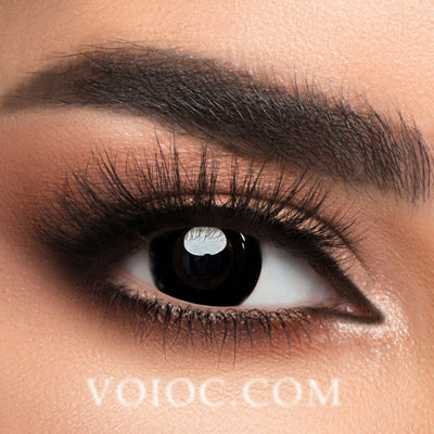 Voioc® Eye Circle Lens Darknight Black Naruto Colored Contact Lenses V6020 - Voioc.com