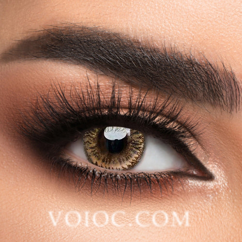 Voioc® Eye Circle Lens Dodo Brown Colored Contact Lenses V6035 - Voioc.com