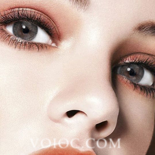 Voioc® Eye Circle Lens Euramerican Grey Colored Contact Lenses V6045 - Voioc.com