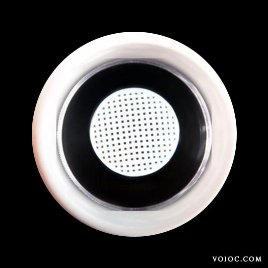 Voioc® Eye Circle Lens Gridding White Colored Contact Lenses V6068 - Voioc.com