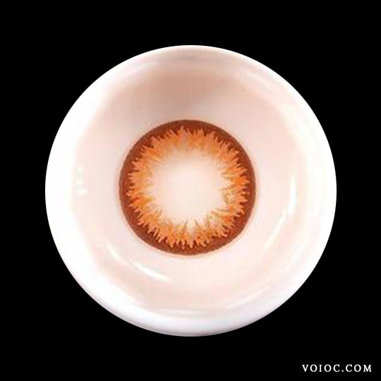 Voioc® Eye Circle Lens Lily Brown Colored Contact Lenses V6079 - Voioc.com