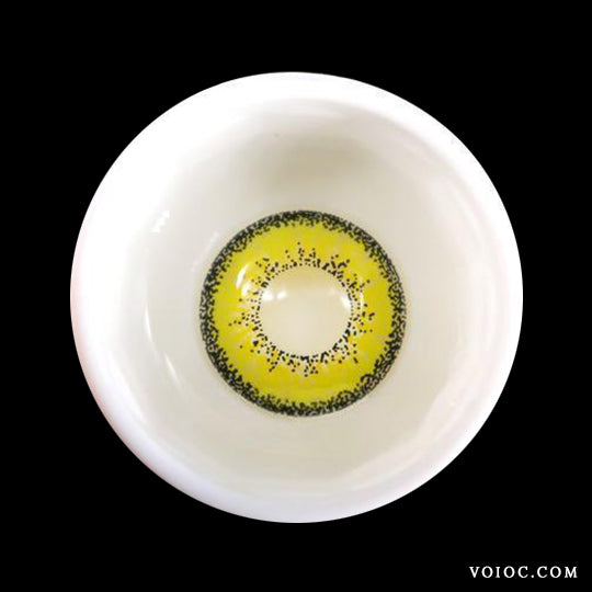 Voioc® Eye Circle Lens Kise Ryota Yellow Colored Contact Lenses V6093 - Voioc.com