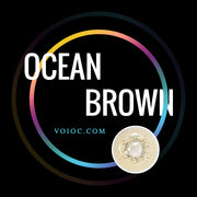 Voioc® Eye Circle Lens Ocean Brown Colored Contact Lenses V6100 - Voioc.com