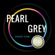 Voioc® Eye Circle Lens Pearl Grey Colored Contact Lenses V6104 - Voioc.com