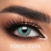 Voioc® Eye Circle Lens Polar Lights Blue Colored Contact Lenses V6105 - Voioc.com