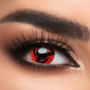 Voioc® Eye Circle Lens Sharingan Kakashi Naruto Colored Contact Lenses V6126 - Voioc.com