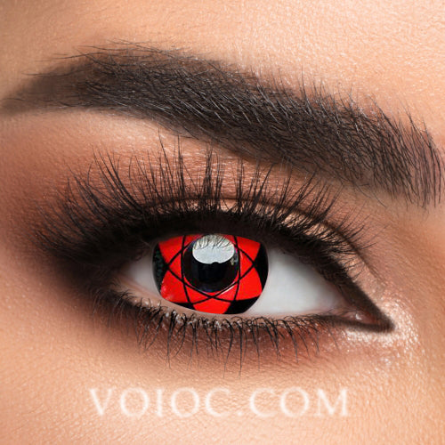 Voioc® Eye Circle Lens Sharingan Sasuke Naruto Colored Contact Lenses V6129 - Voioc.com