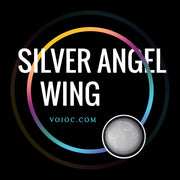 Voioc® Eye Circle Lens Silver Angel Wing Colored Contact Lenses V6130 - Voioc.com