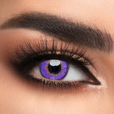 Voioc® Eye Circle Lens Elf Purple Colored Contact Lenses V6140 - Voioc.com