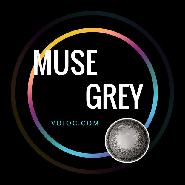 Voioc® Eye Circle Lens Muse Grey Colored Contact Lenses V6150 - Voioc.com