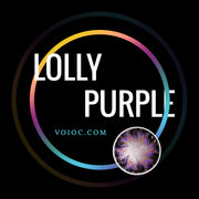 Voioc® Eye Circle Lens Lolly Purple Colored Contact Lenses V6158 - Voioc.com
