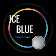 Voioc® Eye Circle Lens Ice Blue Colored Contact Lenses V6174 - Voioc.com