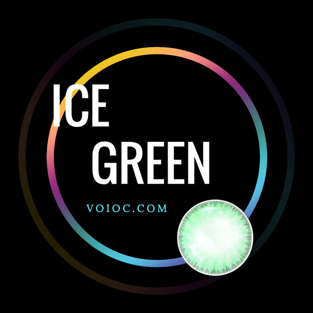 Voioc® Eye Circle Lens Ice Green Colored Contact Lenses V6175 - Voioc.com