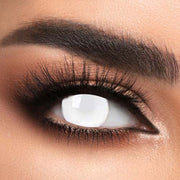 Voioc® Eye Circle Lens Blind White Special Effect Colored Contact Lenses V6208 - Voioc.com