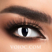 Voioc® Eye Circle Lens White Cat Special Effect Colored Contact Lenses V6227 - Voioc.com