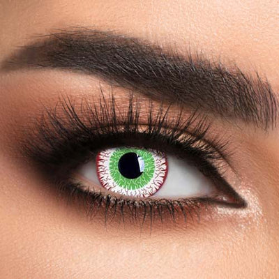 Voioc® Eye Circle Lens Zombie Virus Special Effect Colored Contact Lenses V6231 - Voioc.com