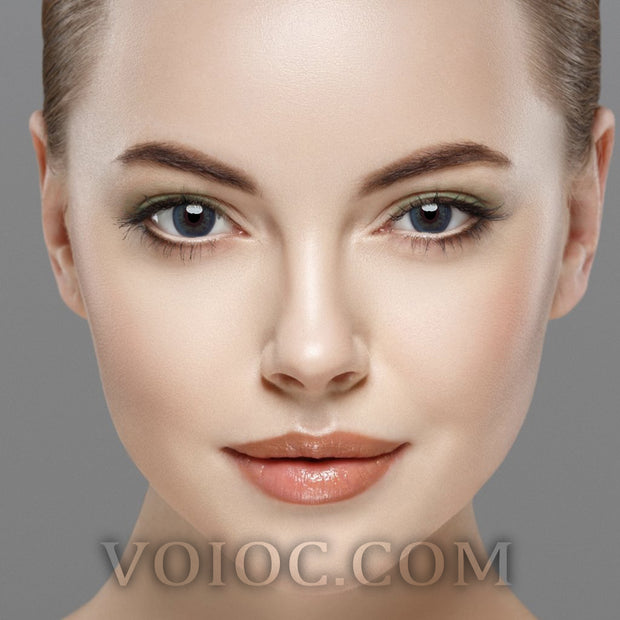 Voioc® Eye Circle Lens Nordic Gray Enlarge Colored Contact Lenses V6266 - Voioc.com