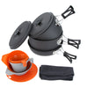 Outdoor Cookware Aluminum Set
