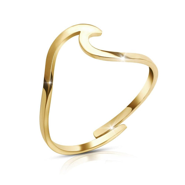 Verstellbarer Wave Ring - GOOD.designs