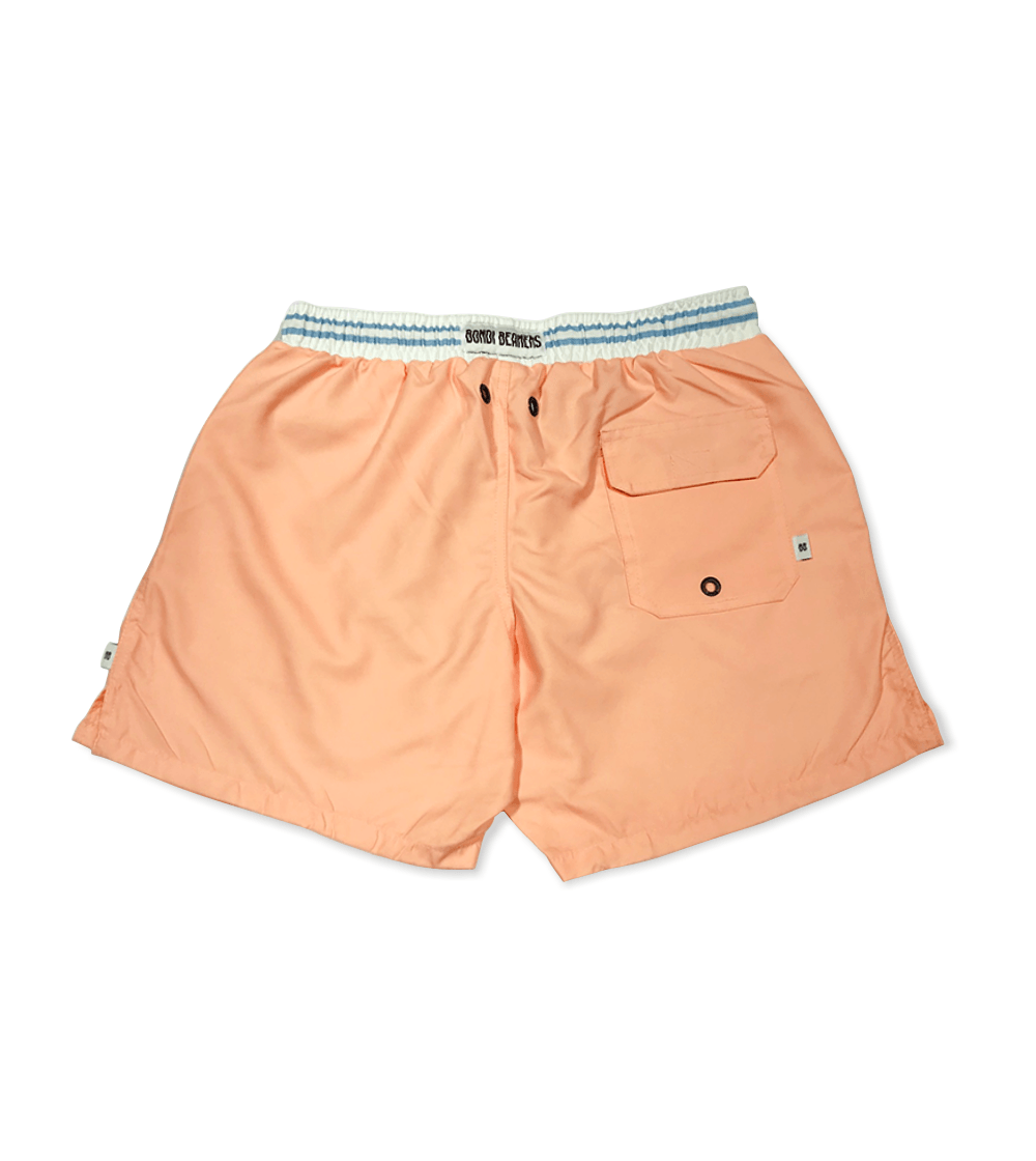 PINK BLUE WAIST BAND ADULT SHORTS