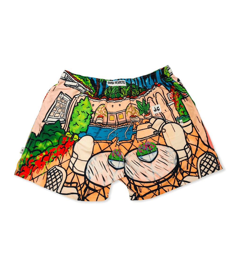 THE BUNGALOW SHORTS: @JAKECLARKJAKECLARK COLLABORATION