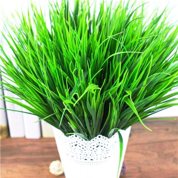 Artificial Green Grass Plants - HomDecors