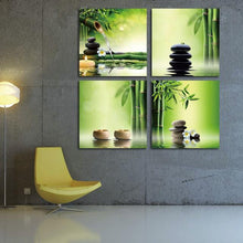 Modern 4 Pieces of Zen Giclee Canvas Paint (5 Sizes Available) - HomDecors