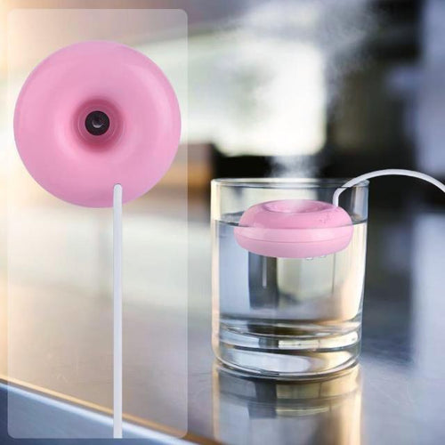 Portable Mini USB Donut Air Humidifier - Aromatherapy Oil Diffuser - HomDecors