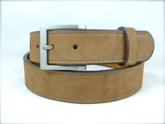 1.5 Scout Titanium Buckle and Nubuck Brown Leather strap