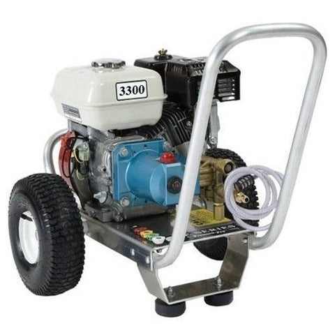 """E2533HCI"" 3GPM @ 3000PSI (Gas - Cold Water) Direct Drive Cat Pump Pressure Washer"