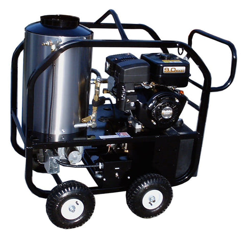 """3012-30G"" 3GPM @ 3000 PSI (Gas - Hot water) Pressure Washer with Subaru EX270 Engine and General Pump"