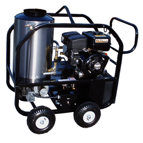 """4012-40G""  4GPM @ 2500 PSI (Gas - Hot water) Pressure Washer with Subaru EX270 Engine and General Pump"