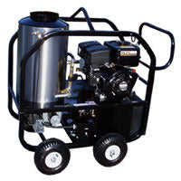 """3012-50G"" 3GPM @ 2500 PSI (Gas - Hot water) Pressure Washer with Subaru EX170 Engine and General Pump"
