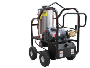 """3230-30A1"" 3 GPM @ 3000 PSI (Electric - Hot water) 6.0 HP AR Pump Pressure Washer"