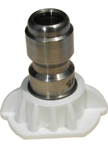 940025Q 2.5 GPM HIGH PRESSURE SPRAY NOZZLE WHITE