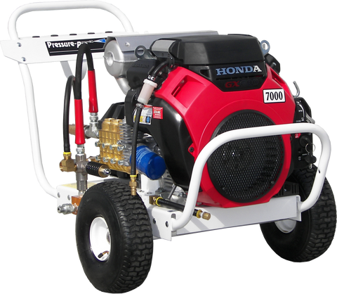 """B4070HAEA700"" 4GPM @ 7000PSI (Gas - Cold Water) Polychain Belt Drive Pressure Washer"
