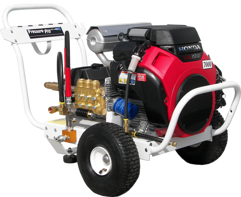 """B4070HGEA700""  4GPM @ 7000PSI (Gas - Cold Water) Polychain Belt Drive Pressure Washer"