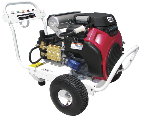 """B5535HAEA409"" 5.5GPM @ 3500PSI (Gas - Cold Water) Polychain Belt Drive Pressure Washer"