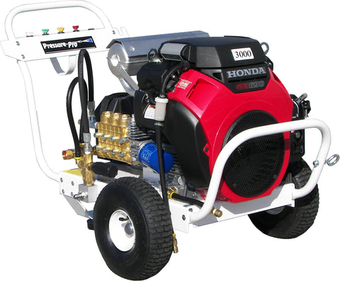 """B8030HGEA406"" 8GPM @ 3000PSI (Gas - Cold Water) Polychain Belt Drive Pressure Washer"