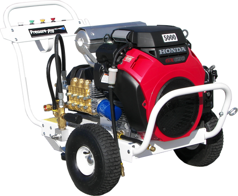 """B5550HAEA515"" 5.5GPM @ 5000PSI (Gas - Cold Water) Polychain Belt Drive Pressure Washer"