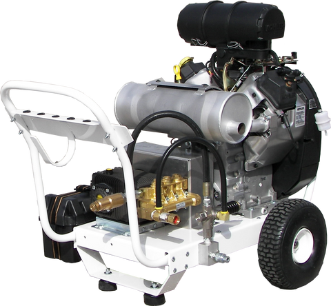 """B6070KAEA700"" 6GPM @ 7000PSI (Gas - Cold Water) Polychain Belt Drive Pressure Washer"