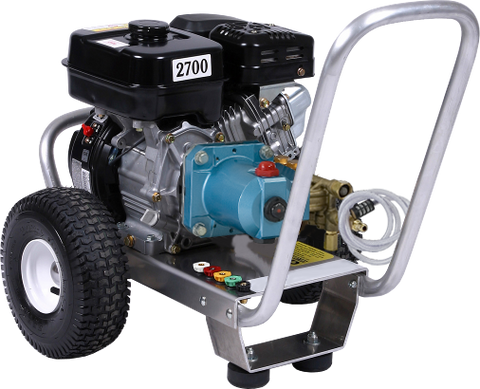 """E3027RC"" 3GPM @ 2700PSI (Gas - Cold Water) Direct Drive Cat Pump Pressure Washer"