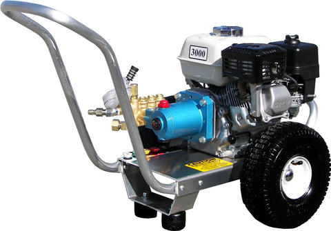 """E3030HCI"" 3GPM @ 3000PSI (Gas - Cold Water) Direct Drive Cat Pump Pressure Washer"